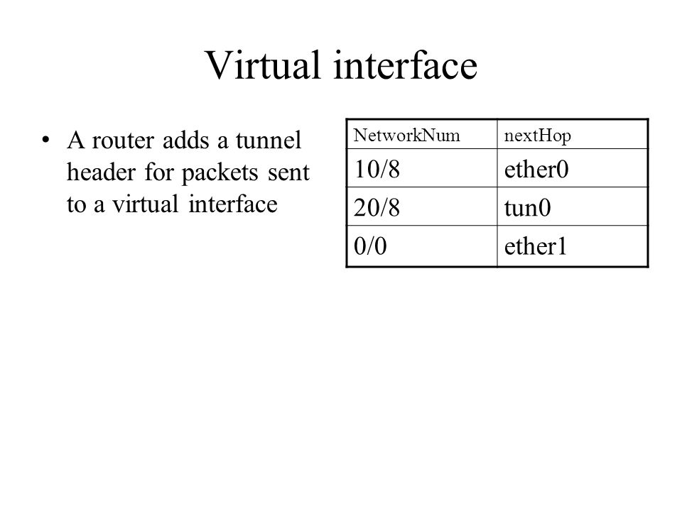 Reverse path flooding Reverse shortest-path flooding – If packet comes from link L, and next hop to S is L, broadcast to all outgoing links except the incoming one Packets do not loop back – Why.