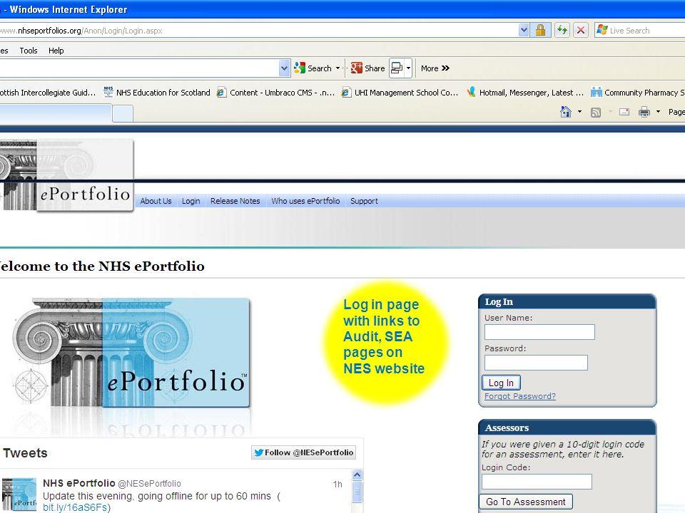 Quality Education for a Healthier Scotland Pharmacy How do we complete the portfolio.