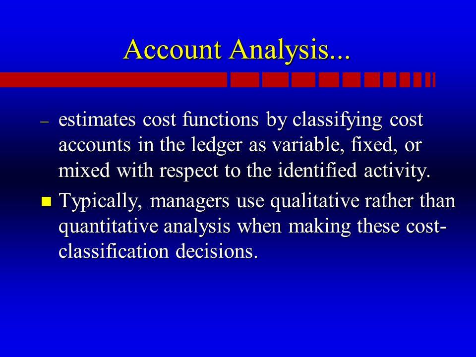 Account Analysis...