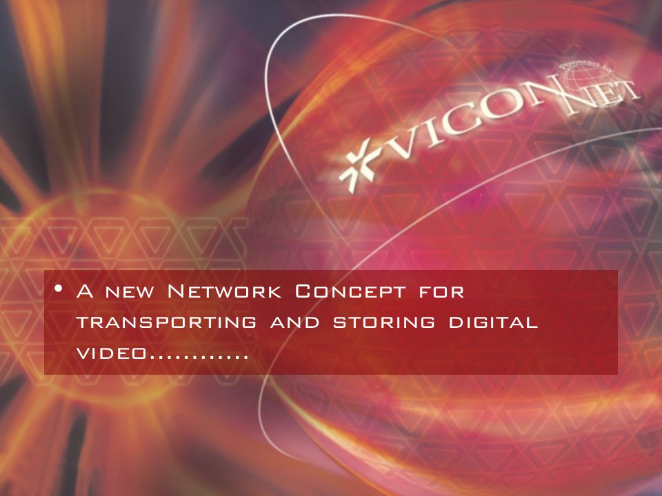 What is ViconNet.
