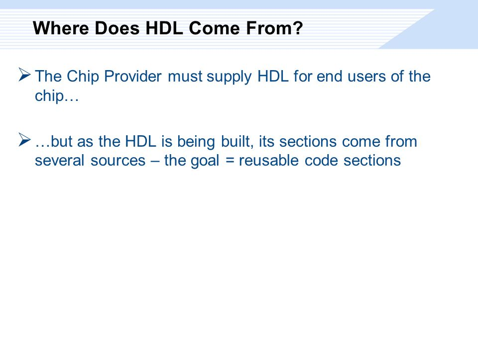 Where Does HDL Come From.