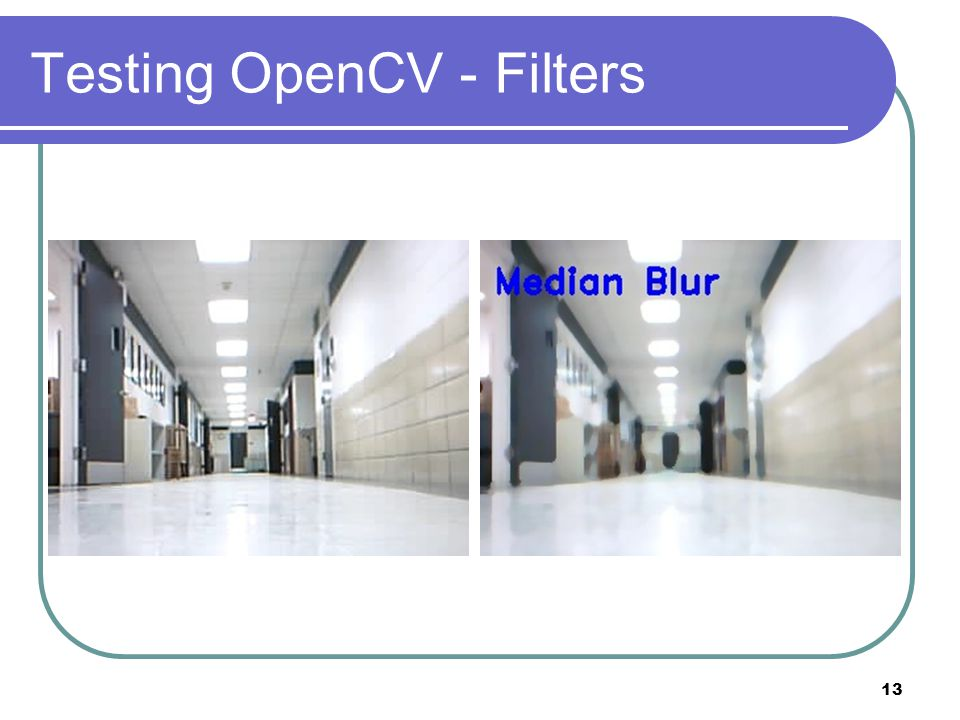 Testing OpenCV - Filters 13
