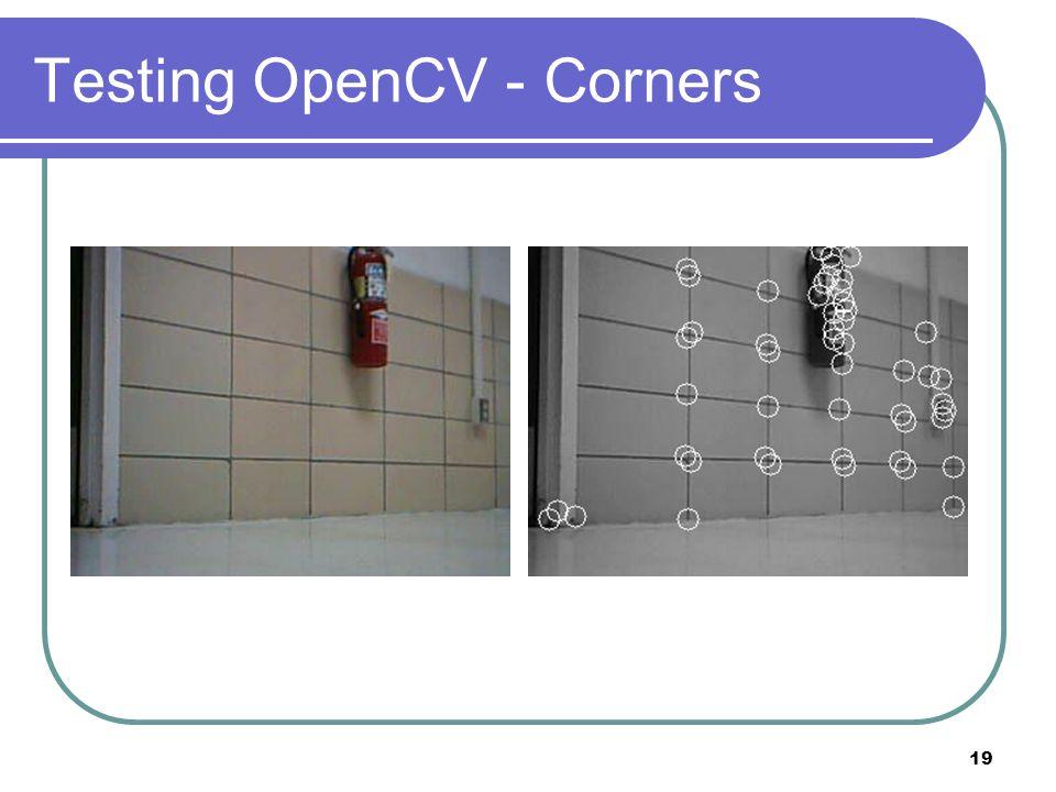Testing OpenCV - Corners 19