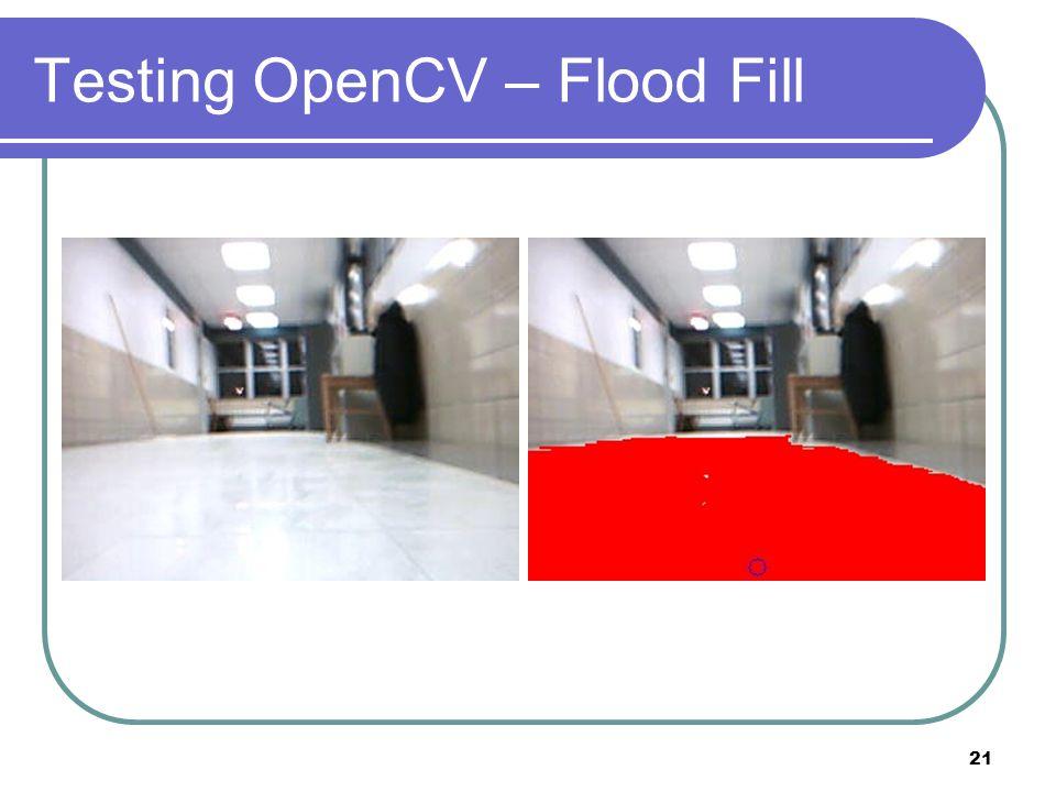 Testing OpenCV – Flood Fill 21