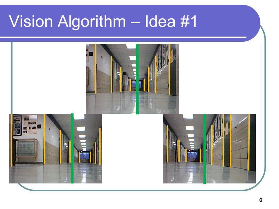 Vision Algorithm – Idea #1 6