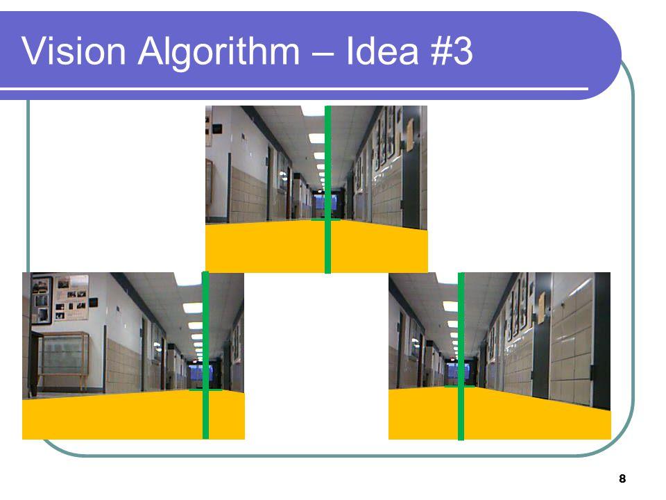 Vision Algorithm – Idea #3 8