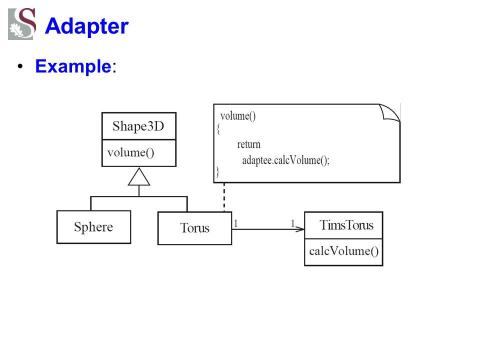 Adapter Example: