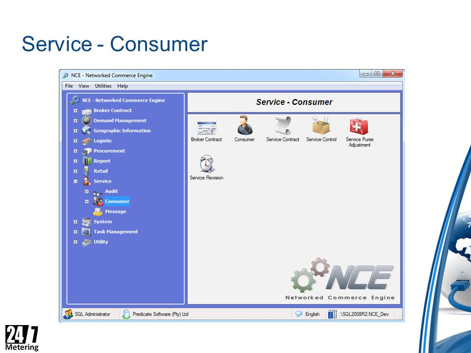 Service - Consumer