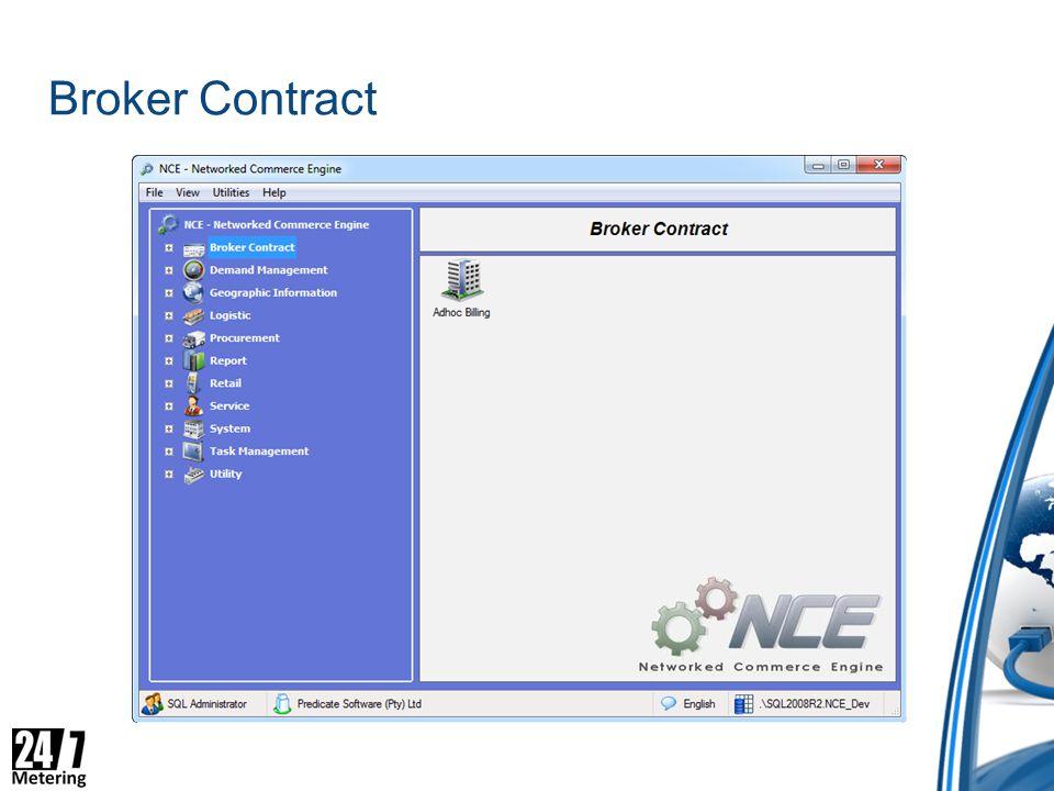 Broker Contract