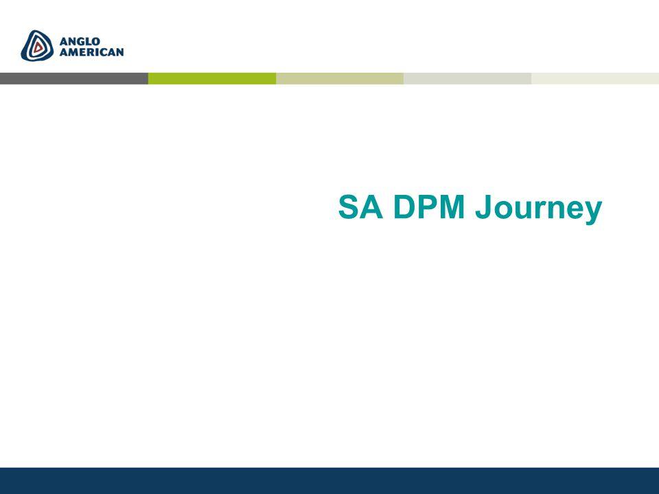 SA DPM Journey
