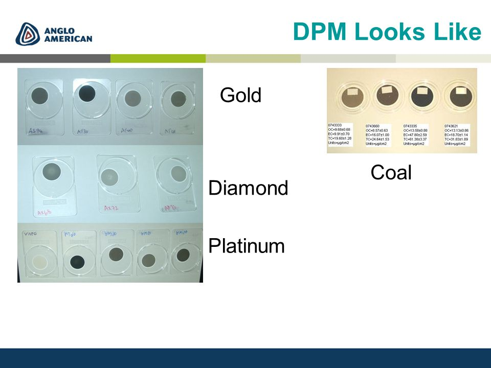DPM Looks Like Diamond Platinum Gold Coal
