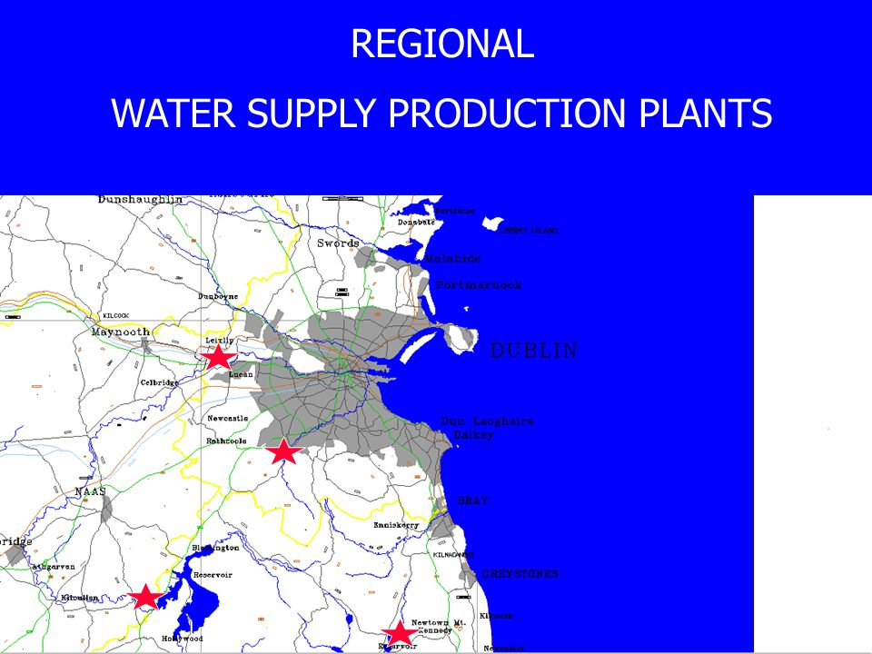 REGIONAL WATER SUPPLY PRODUCTION PLANTS