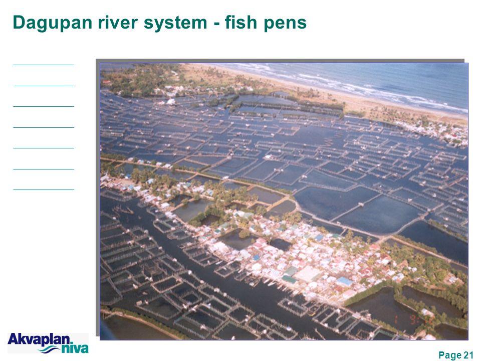 Page 21 Dagupan river system - fish pens