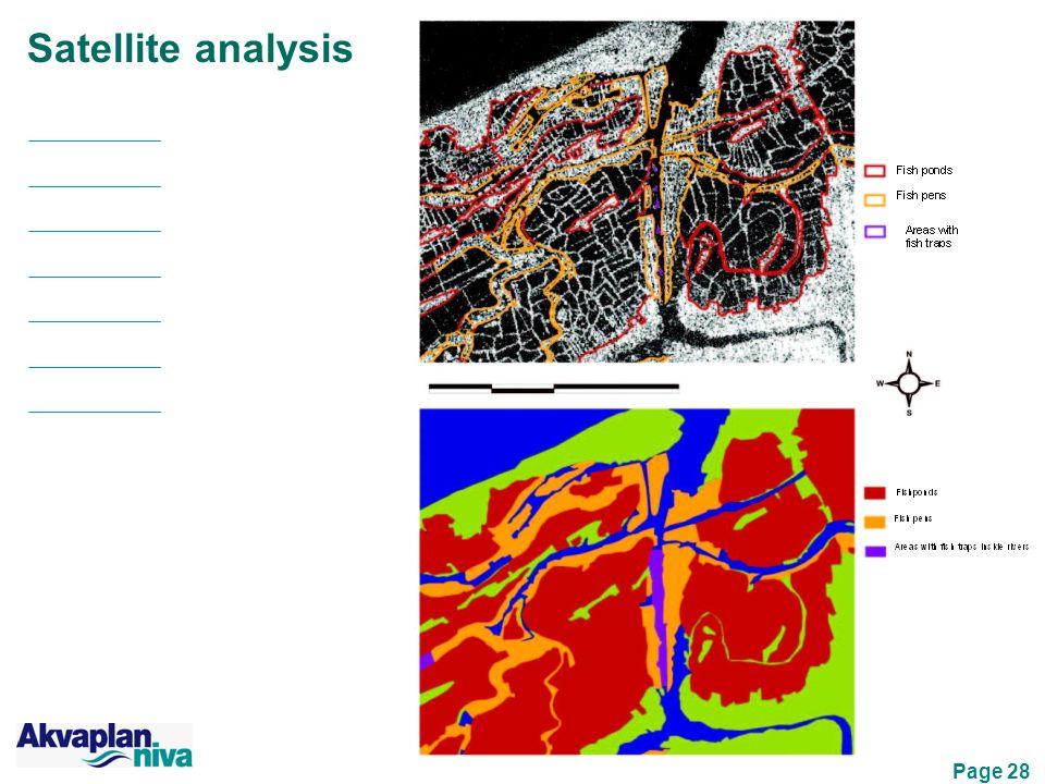 Page 28 Satellite analysis