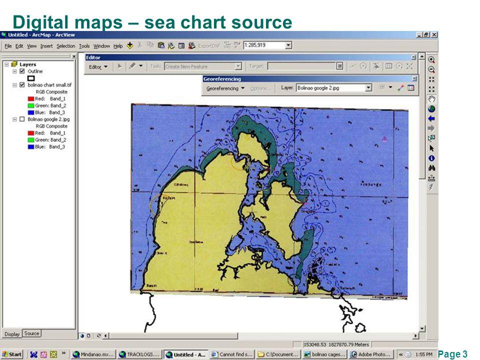 Page 3 Digital maps – sea chart source