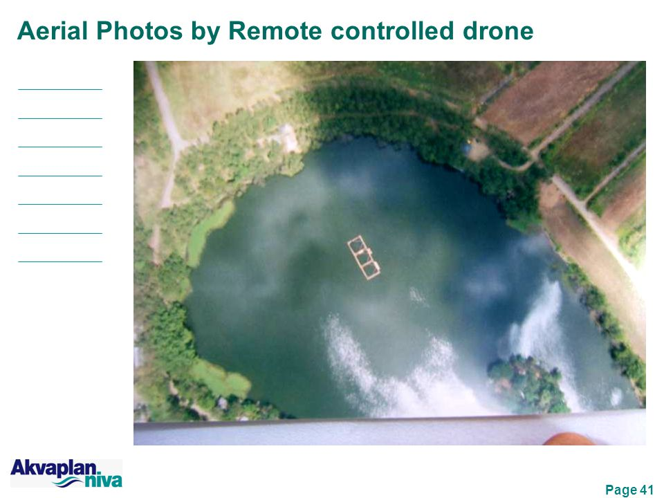 Page 41 Aerial Photos by Remote controlled drone