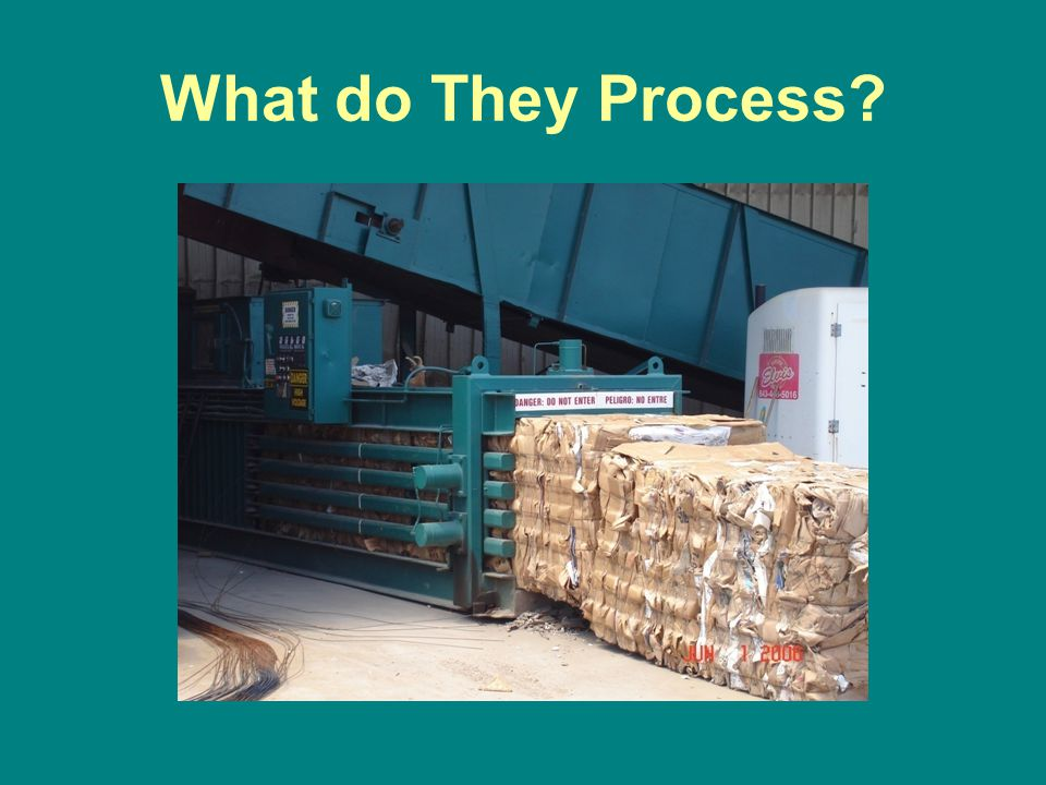 What do They Process?