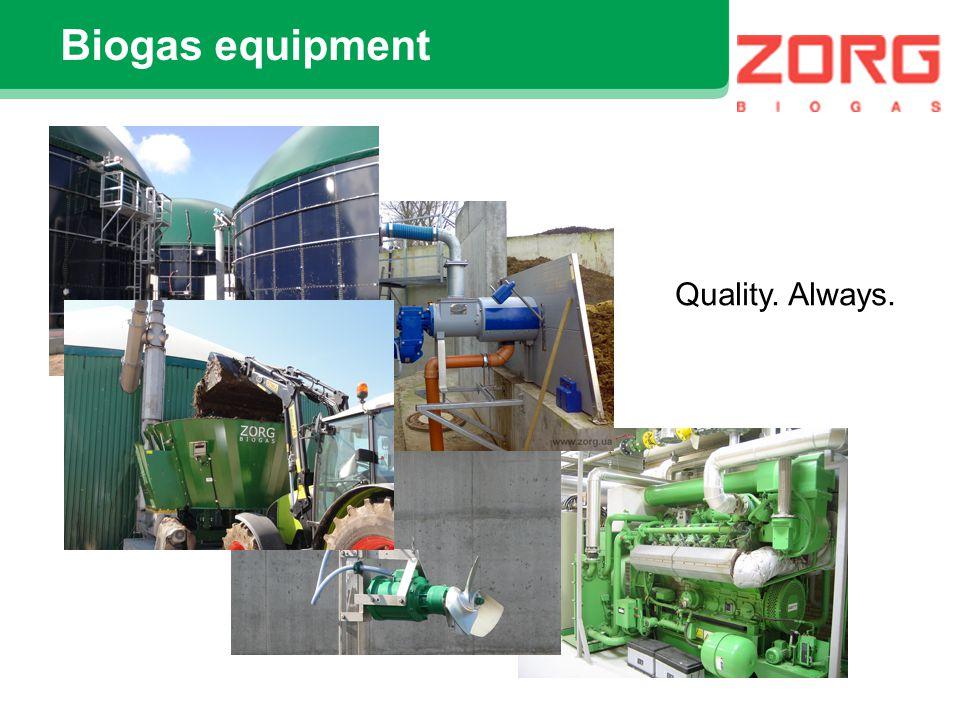 Some references Biogas plant Vircava, Latvia 30 ton/day of maize silage Reactors 2400 m3 +1400 m3 CHP Deutz 600 KW el.