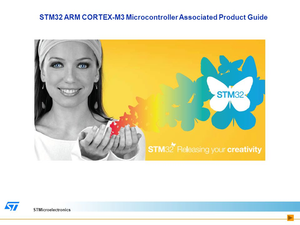 STMicroelectronics STM32 ARM CORTEX-M3 Microcontroller Associated Product Guide Protection Devices Data Acquisition & Signal Conditioning Data Conversion Application Specific for Motor Control Digital Circuit Click on the Subsystem Sensors & MEMS Memories Led Drivers Power Management Amplifiers & Comparators