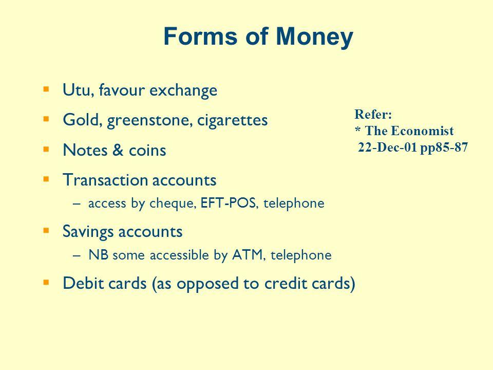 Major Market Instruments  Securities promising the holder a defined cashflow –Bill (short term) –e.g.