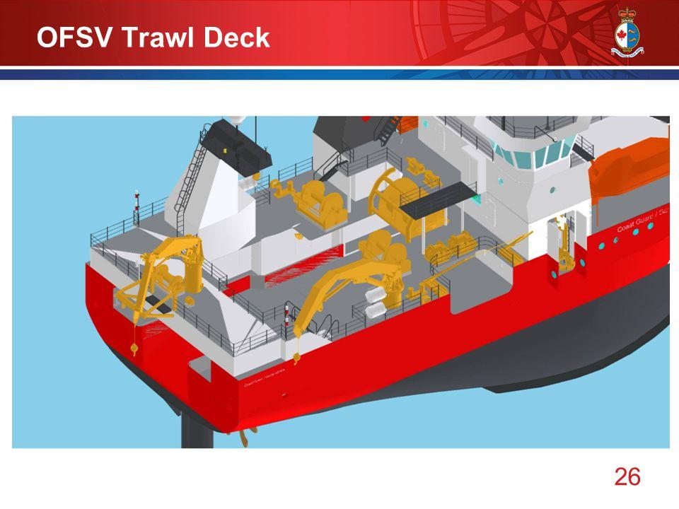 26 OFSV Trawl Deck
