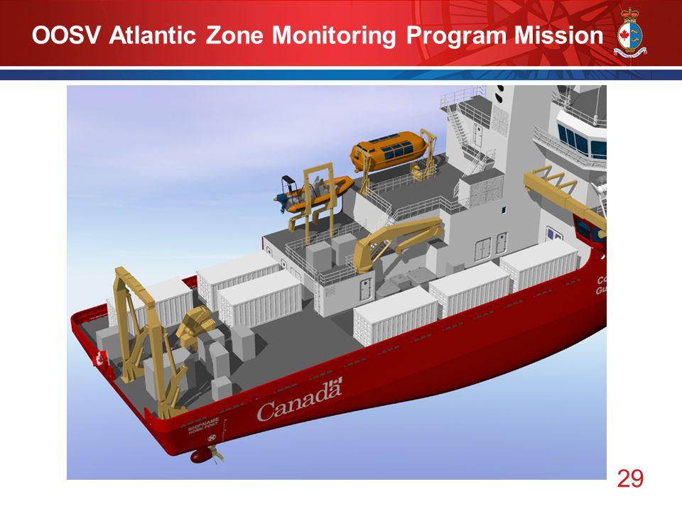 29 OOSV Atlantic Zone Monitoring Program Mission