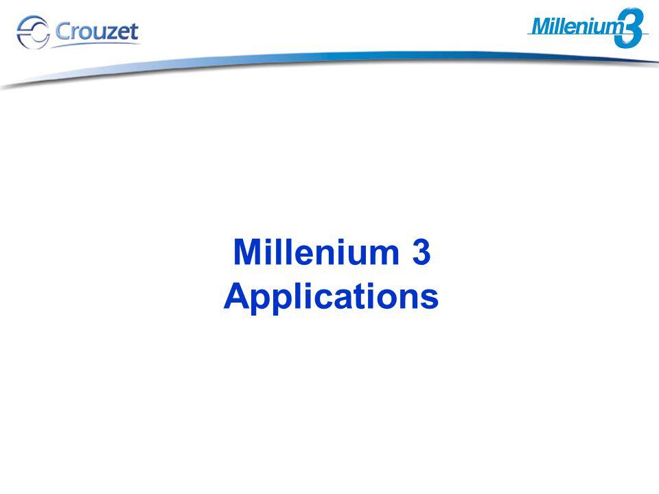Millenium 3 Applications
