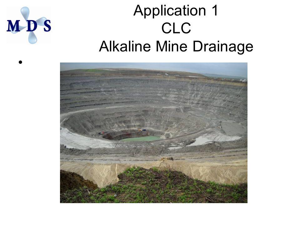 Application 1 CLC Alkaline Mine Drainage