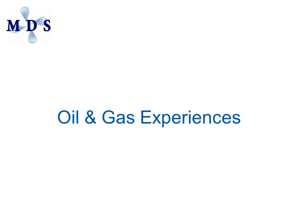 Oil & Gas Experiences