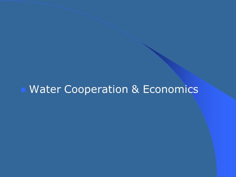Water Cooperation & Economics