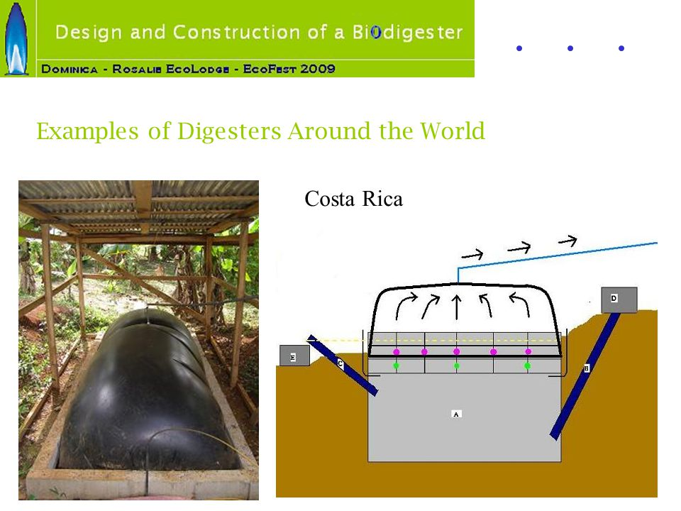 Examples of Digesters Around the World Costa Rica