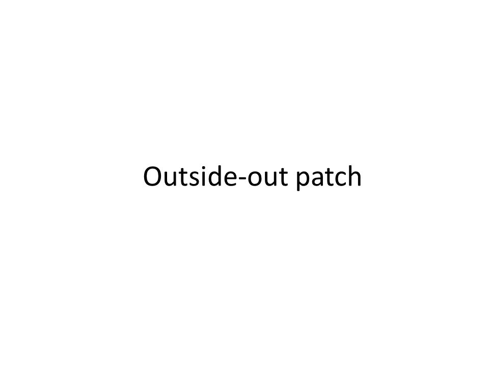 Outside-out patch