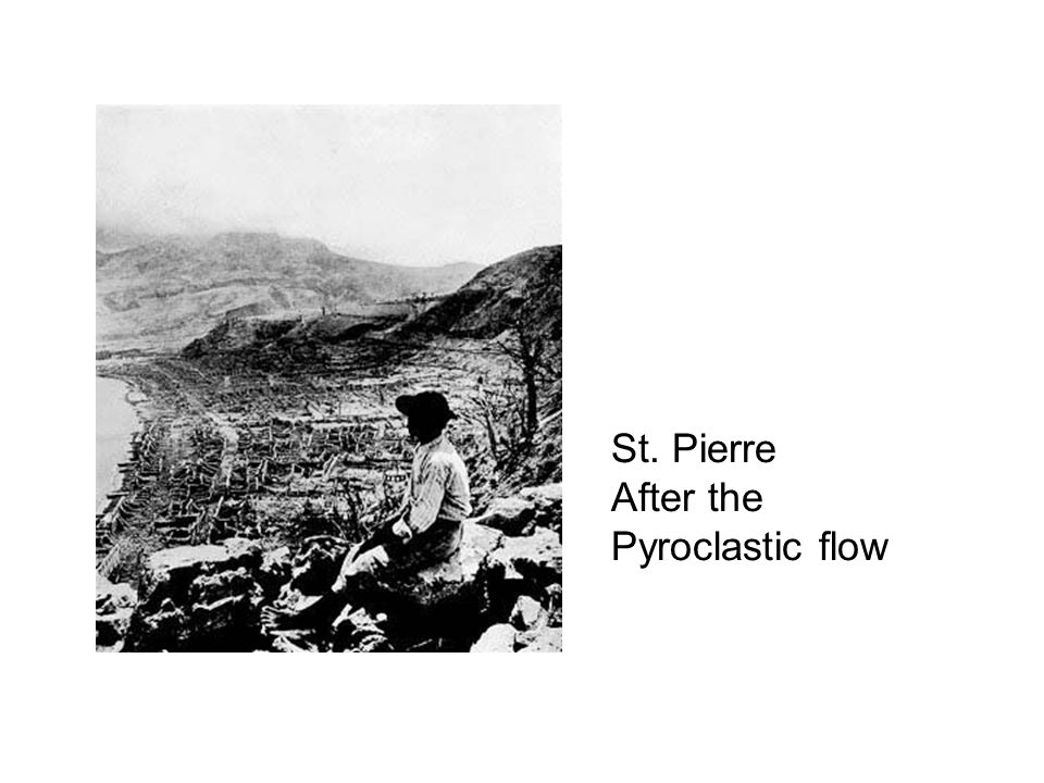 St. Pierre After the Pyroclastic flow