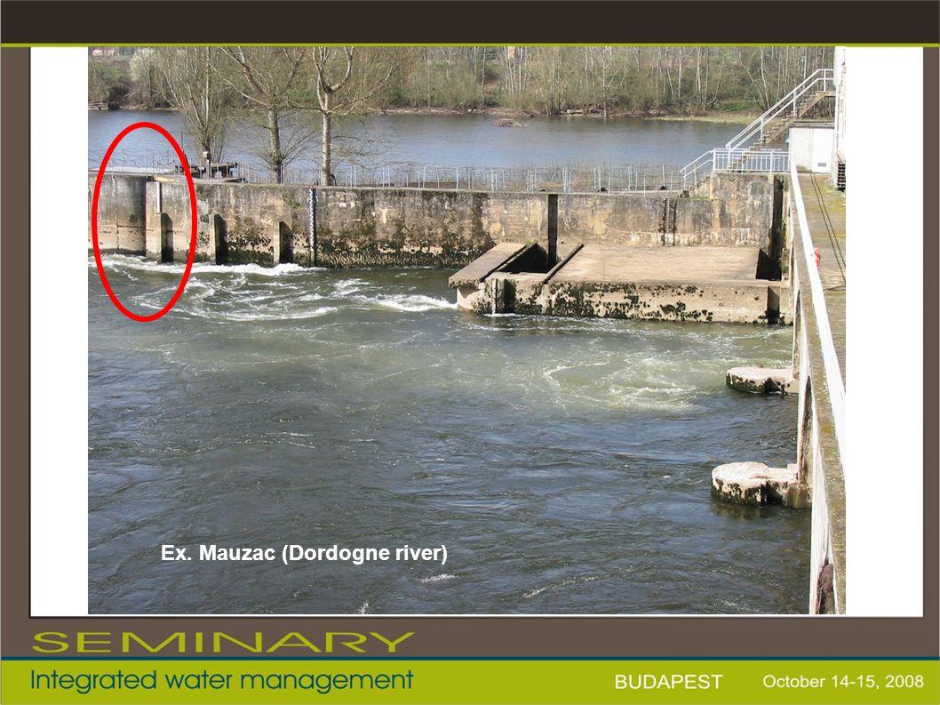 Ex. Mauzac (Dordogne river)