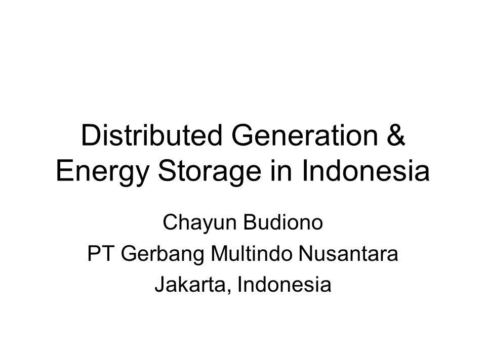 PV-D Hybrid at Pena'ah Island PV Generator12.5 kWp Battery400 Ah / 220 VDC Diesel Generator20 kVA Inverter15 kVA