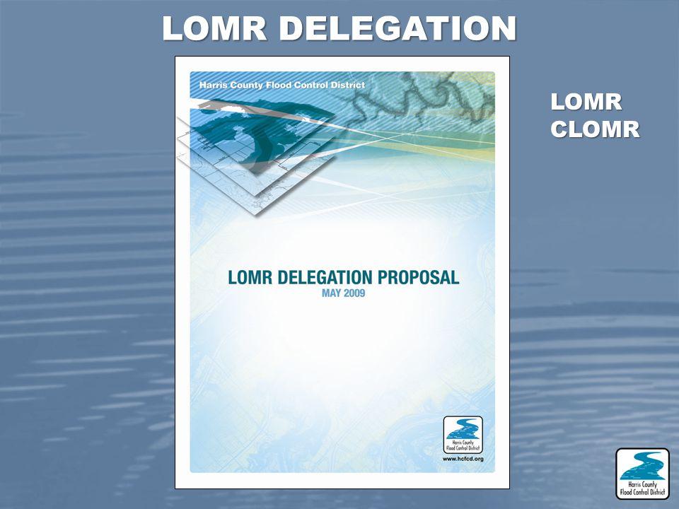 LOMR DELEGATION LOMRCLOMR