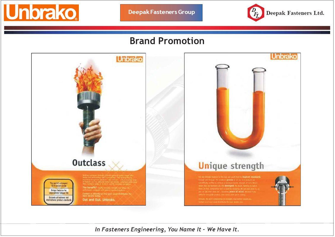 D F L Deepak Fasteners Group Brand Promotion In Fasteners Engineering, You Name It - We Have It. Deepak Fasteners Ltd.