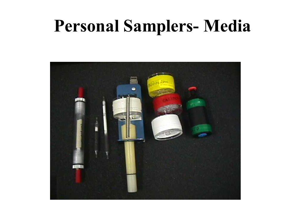 Personal Samplers- Media