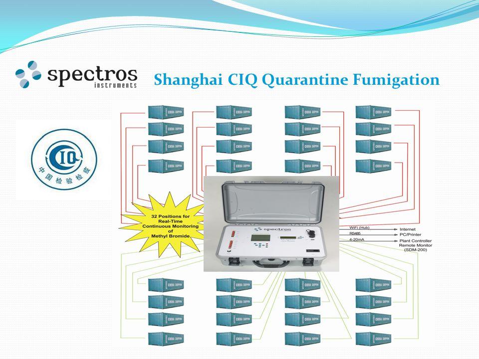 Shanghai CIQ Quarantine Fumigation