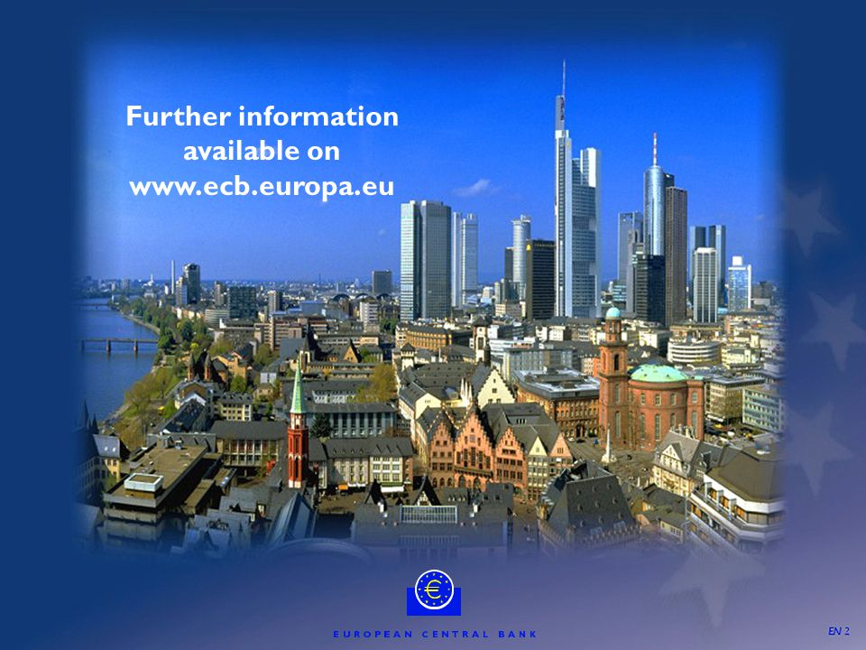 46 Further information available on www.ecb.europa.eu