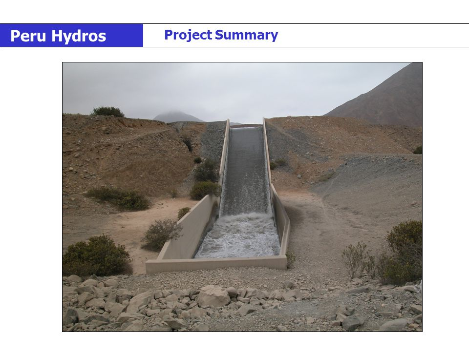 Peru Hydros Project Summary