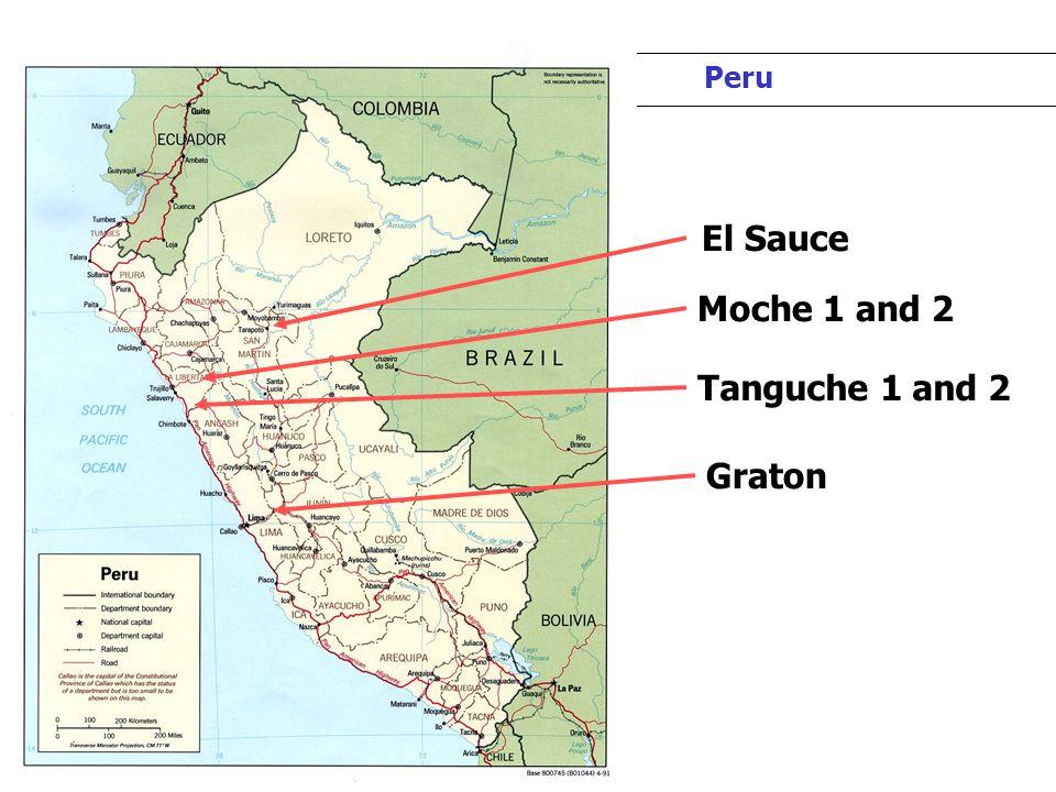 Peru Hydros Project Summary Peru Graton Moche 1 and 2 Tanguche 1 and 2 El Sauce