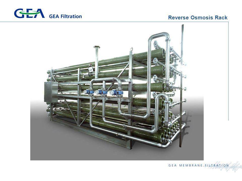 Reverse Osmosis Rack