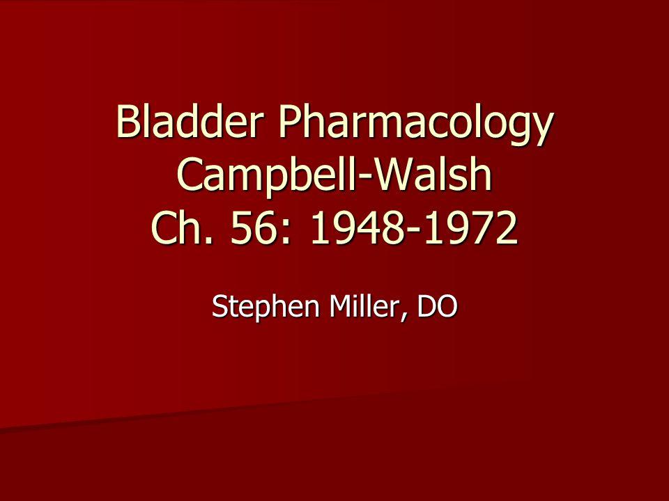 Peripheral Pharmacology
