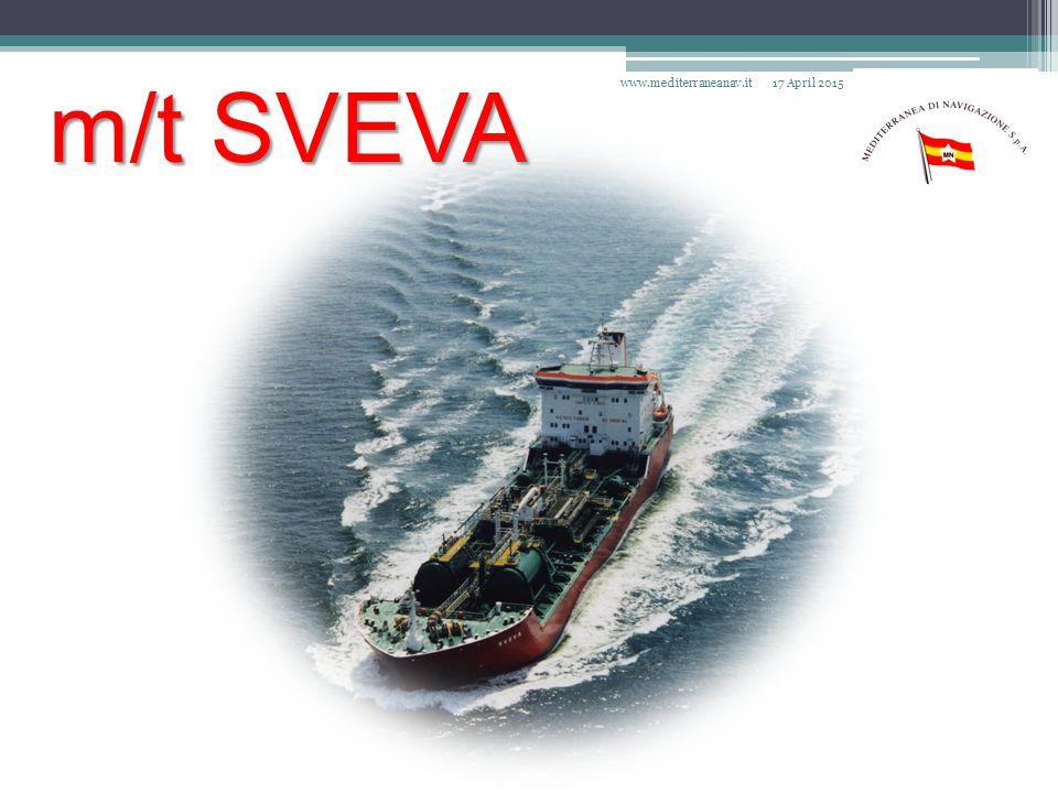 m/t SVEVA 17 April 2015www.mediterraneanav.it