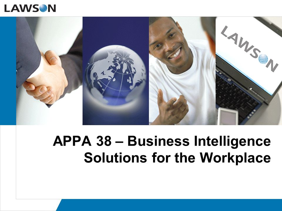 Page 42 How does Lawson-Hackett EPM solution work.
