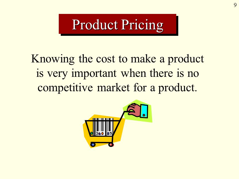 20 Measuring Cost A predetermined overhead rate is an estimate of the amount of overhead assigned to a product for each unit of activity.