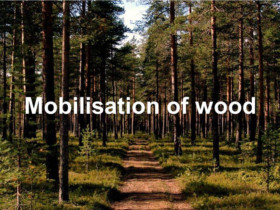 Mobilisation of wood