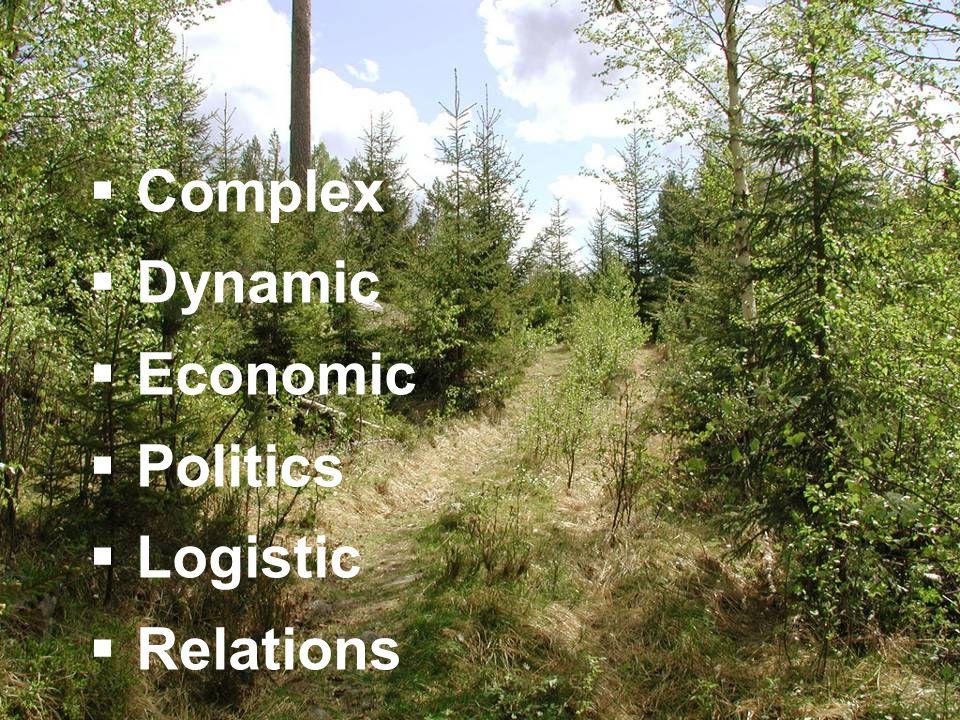  Complex  Dynamic  Economic  Politics  Logistic  Relations
