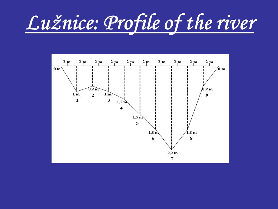 Lužnice: Profile of the river